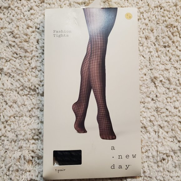 A New Day Fashion Tights Black S/M